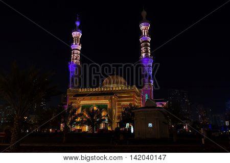 Sharjah Mosque Festival in 2014 United Arab Emirates