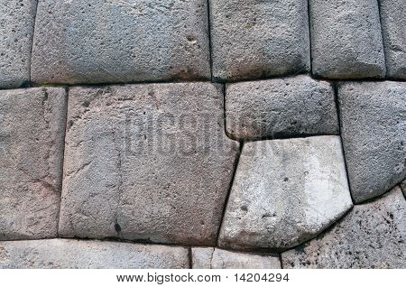 Ancient wall of Sacsayhuaman