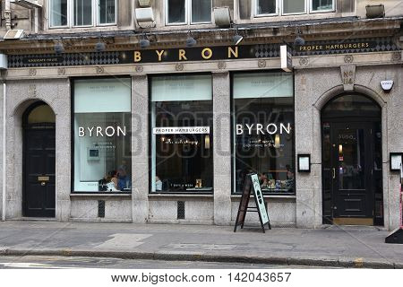 Byron Proper Hamburgers