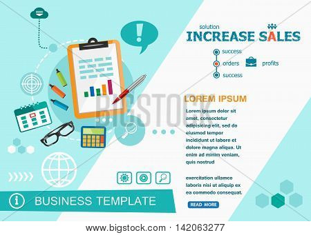 Increase Sales Design Concepts Of Words Learning And Training.