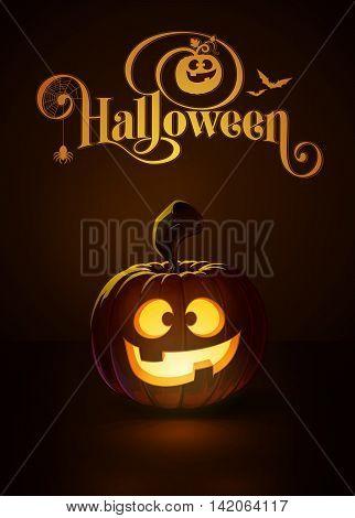 Jack-o-lantern Dark Happy