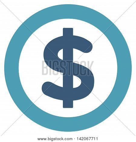 Finance vector icon. Finance icon symbol. Finance icon image. Finance icon picture. Finance pictogram. Flat cyan and blue finance icon. Isolated finance icon graphic. Finance icon illustration.