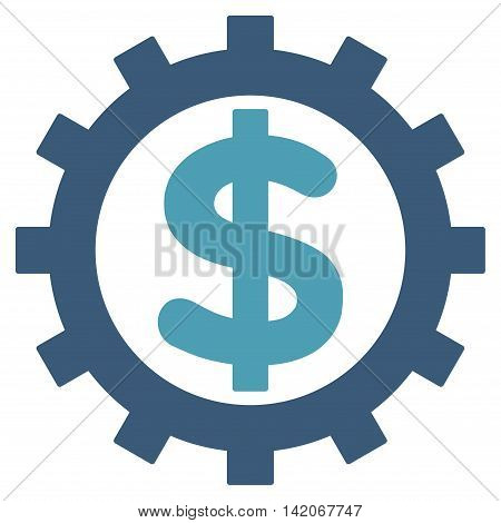 Financial Industry vector icon. Financial Industry icon symbol. Financial Industry icon image. Financial Industry icon picture. Financial Industry pictogram.
