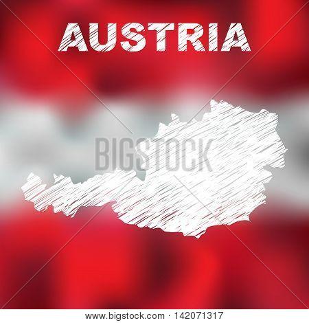 Austrian Abstract Map