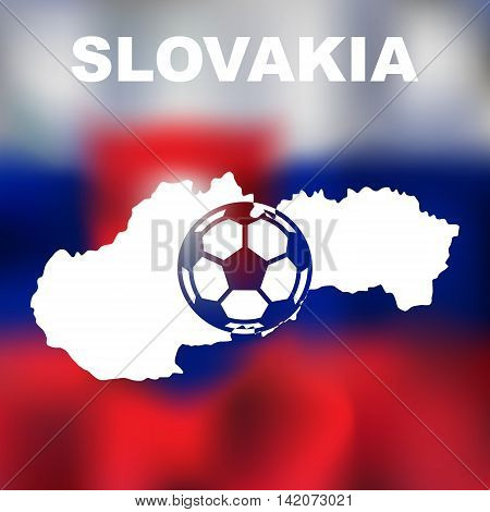 Slovak Abstract Map