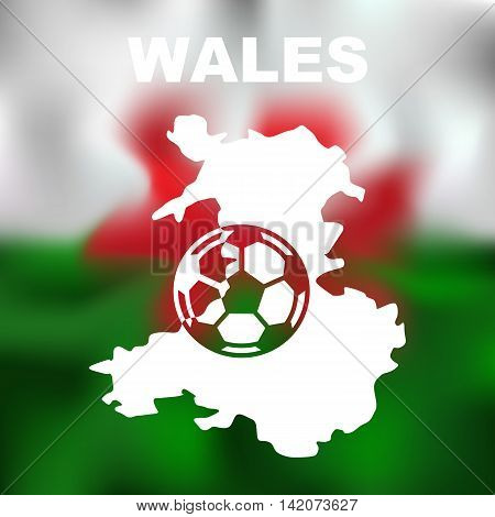 Wales Abstract Map