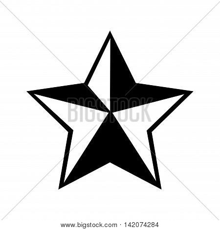 star western sheriff old texas  cowboy element silhouette vector graphic isolated and flat illustration