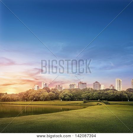 daytime landscape photography Barigui Park in Curitiba