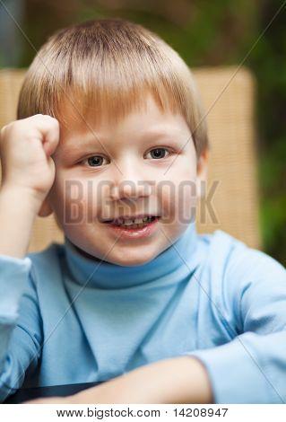 Smiling Little Boy