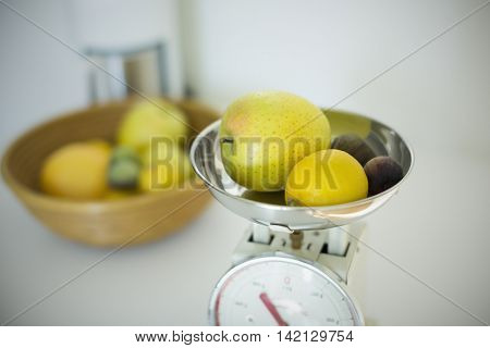 Measurement of the fruit