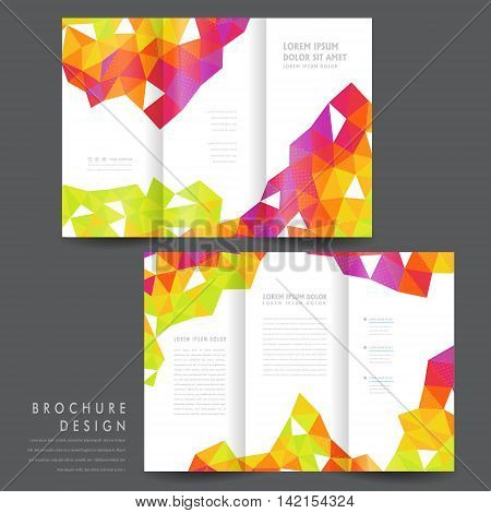 Attractive Tri-fold Brochure Template Design