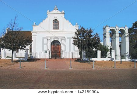 N G Church, Opened In 1840, Stellenbosch, South Africa