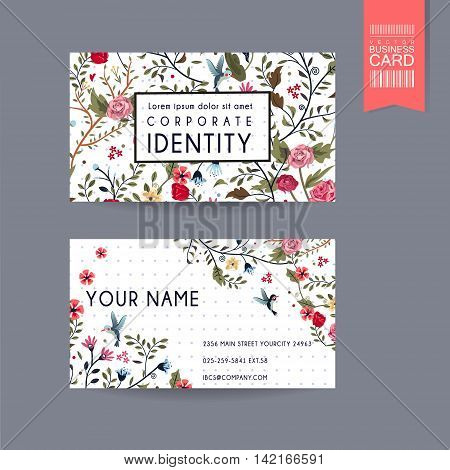 Graceful Business Card Design