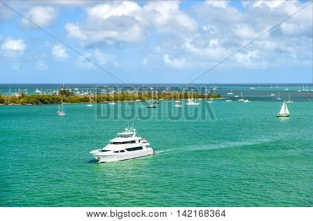 Yachts In Key West