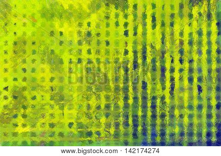 Multi-colored Chaotic Panel