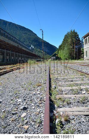 Exterior de la Estación de Canfranc. Huesca. Aragón. España