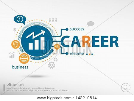 Career Concept For Creative Process.