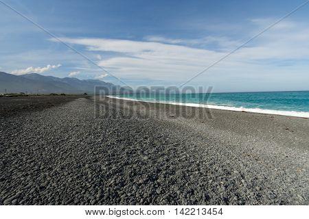 Marlborough land south island New Zealand sea 2016
