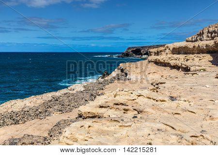 Black Bay (Caleta Negra) - Ajuy Fuerteventura Canary Islands Spain Europe