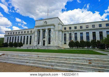 Marriner S Eccles Federal Reserve Board Building In Washington Dc