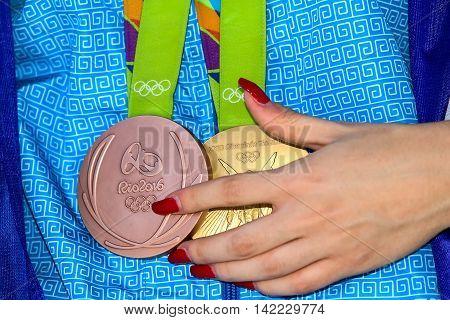Greek Shooting Star Anna Korakaki - Rio Olympics