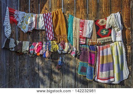 Traditional Handcraft Crocheted Fabrics