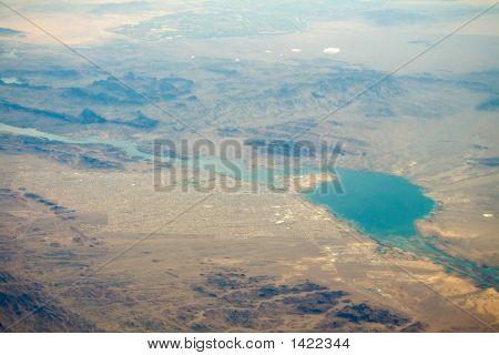 Aerial View Of Lake Havasu