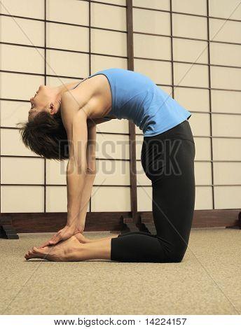 Pilates Stretch on Floor