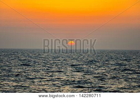 Horison, nature, landscape, sinset, sun, sea view