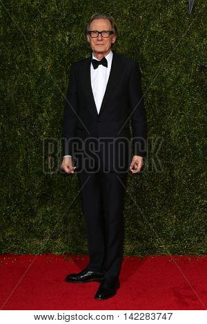 NEW YORK-JUN 7: Actor Bill Nighy attends American Theatre Wing's 69th Annual Tony Awards at Radio City Music Hall on June 7, 2015 in New York City.