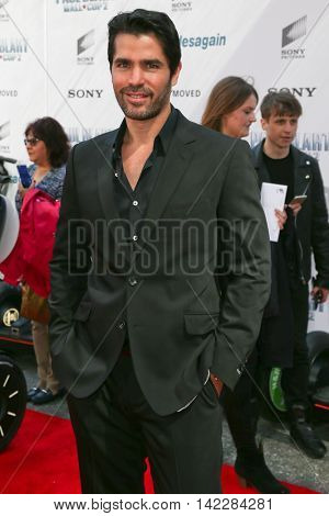 NEW YORK-APR 11: Actor Eduardo Verastegui attends the world premiere of