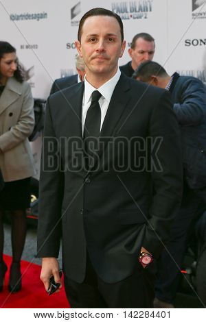 NEW YORK-APR 11:Founder and owner of Las Vegas Nightlife Group Sean Christie attends the world premiere of