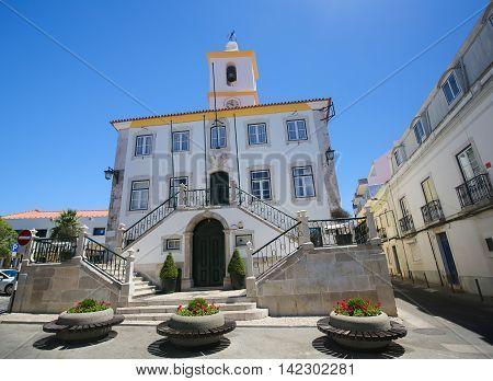 Largo Luis De Camoes In Almada, Portugal