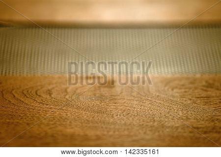 Vintage hi-fi Stereo Amplifier wood brown texture