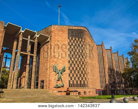 Coventry Cathedral Hdr
