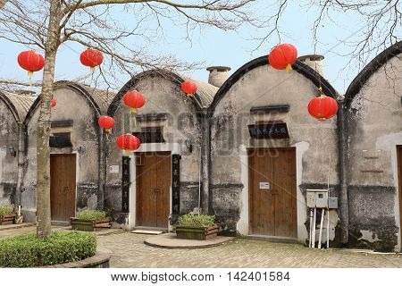 SHENZHEN, CHINA - MARCH 28, 2016: Dapeng Ancient village on March 28, 2016 in Shenzhen, China. Built in 1394, it is a landmark walled village of national significance in Guangdong province.