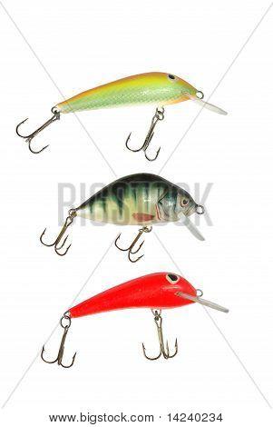 Three Wobbler For Fishing