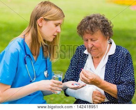 Senior Woman Health