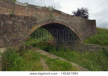 Restored Cowground Bridge over the Thames & Severn Canal Siddington; Gloucestershire