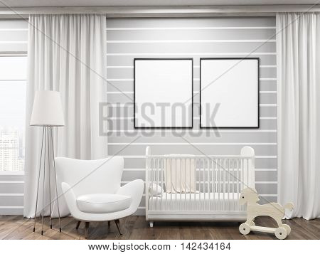 Cozy Kid's Room Interior