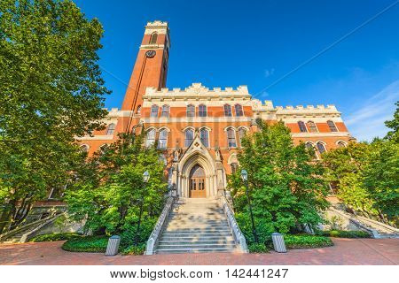 Campus of Vanderbilt Unversity in Nashville, Tennessee.
