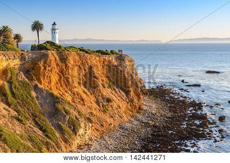 Point Vicente in Rancho Palos Verdes, Los Angeles, California. poster