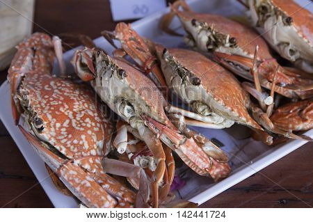 The Steam Dungeness crab ready to eat!