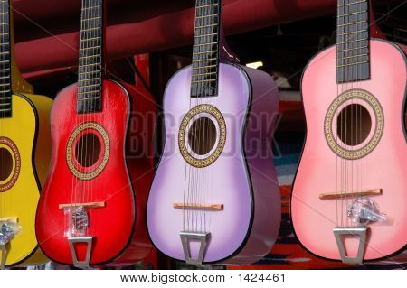 Mexican Toy Guitars