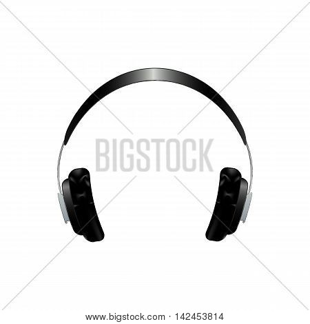 vector headphones. icon for design. isolate. a picture for the website. design element