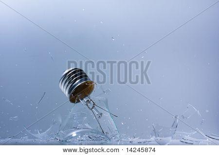 Smashing Light bulb