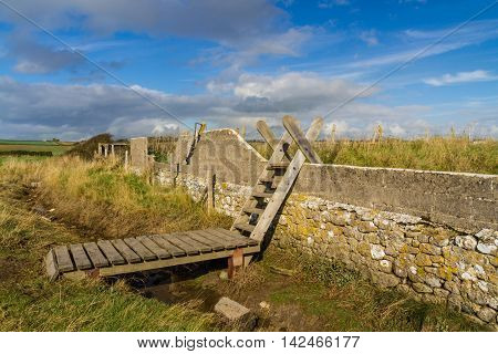 Ladder Stile, South Wales