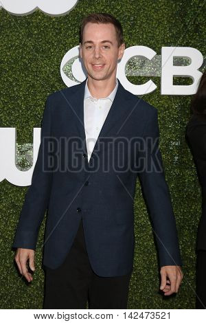 LOS ANGELES - AUG 10:  Sean Murray at the CBS, CW, Showtime Summer 2016 TCA Party at the Pacific Design Center on August 10, 2016 in West Hollywood, CA