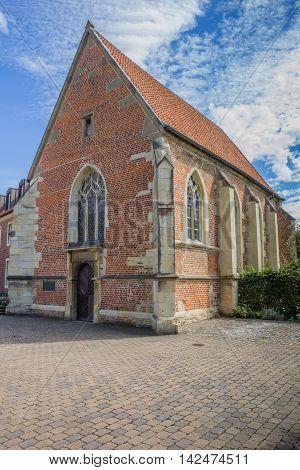 Church Johannes Kapelle In The Historical Center Of Munster