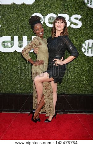 LOS ANGELES - AUG 10:  Shanola Hampton, Isidora Goreshter at the CBS, CW, Showtime Summer 2016 TCA Party at the Pacific Design Center on August 10, 2016 in West Hollywood, CA